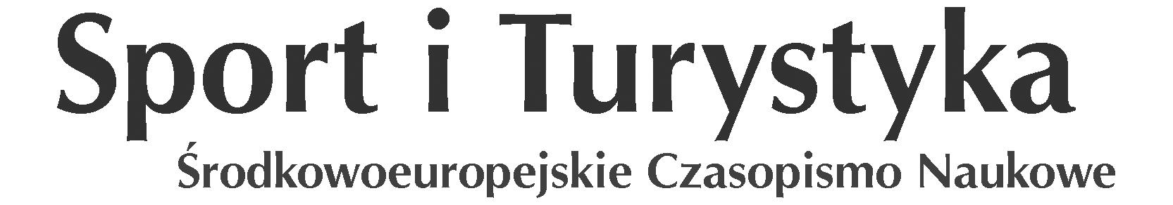 Sport i Turystyka Środkowoeuropejskie Czasopismo Naukowe